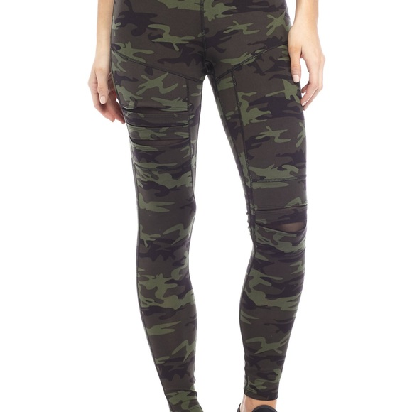 a5cc5e9b26c4a Jessica Simpson Pants - Camo Jessica Simpson workout leggings